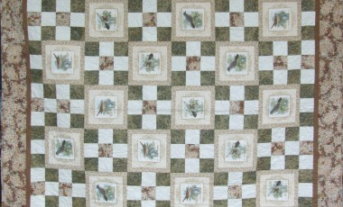 Twitchers Paradise 185 x 165cms