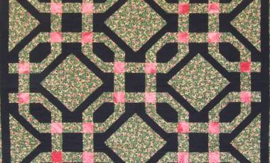 Moonlit Trellis 130 x 130cms